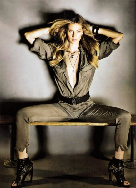 Gisele Bundchen by Nino Muñoz for <em>Vogue Korea</em> May 2010