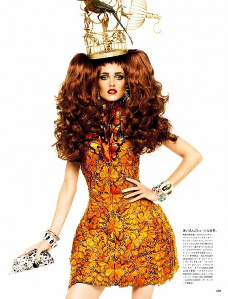 Karmen Pedaru by Giampaolo Sgura for <em>Vogue Nippon</em> March 2011