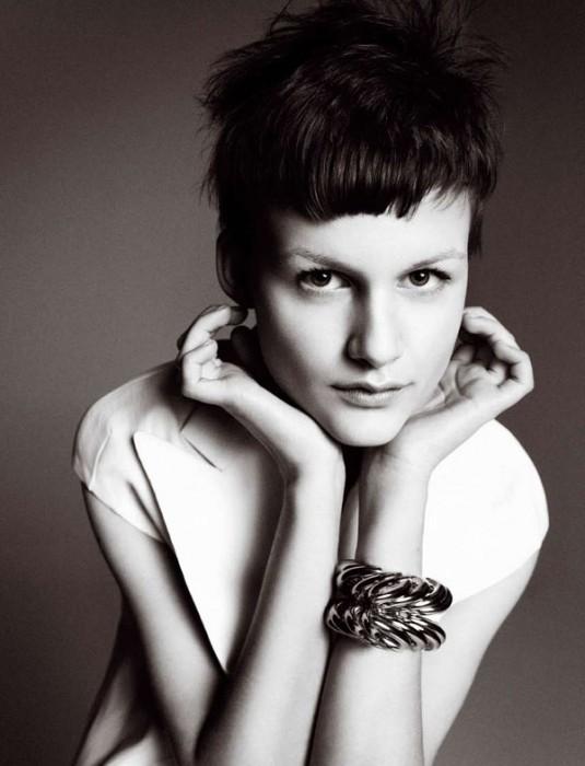 Nina Porter by Txema Yeste for Harper's Bazaar Spain February 2011