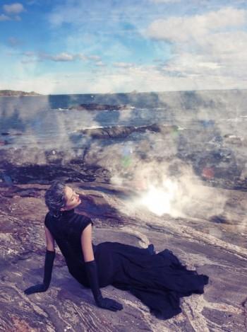 Solange Wilvert by Paul de Luna for Blank Magazine