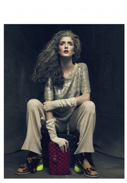 Amanda Laine by Dima Hohlov for <em>Playing Fashion</em>