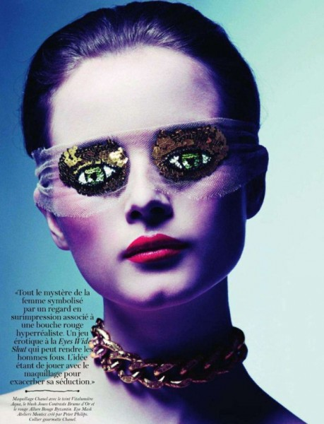 Anna de Rijk by Inez & Vinoodh for <em>Vogue Paris</em> March 2011