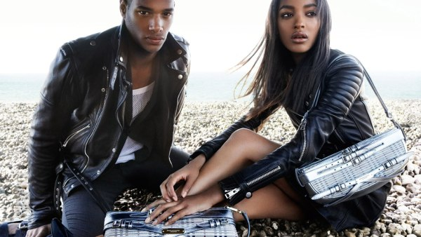 Jourdan Dunn for Burberry Spring 2011 Campaign