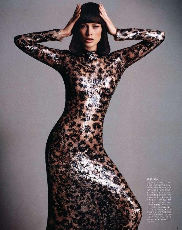 Carolyn Murphy by Daniele & Iango for Vogue Nippon March 2011