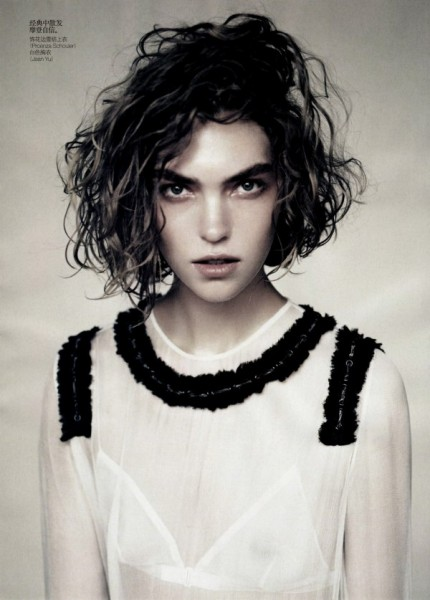 Arizona Muse by Paolo Roversi for <em>Vogue China</em> April 2011