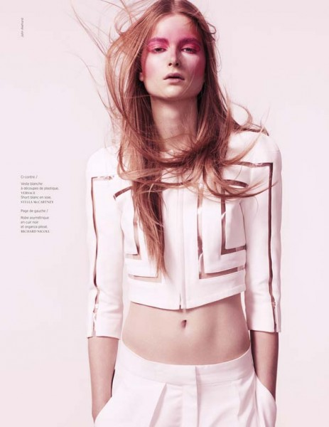 Bo Don by John Akehurst for <em>French Revue de Modes</em> S/S 2011