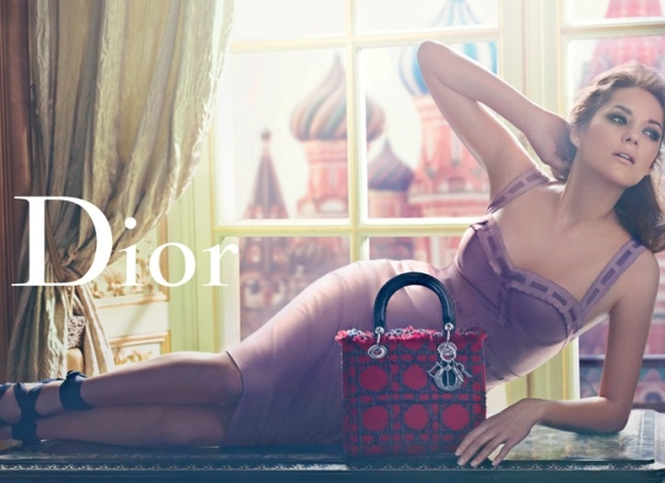 Marion Cotillard for Lady Dior Handbags Summer 2011