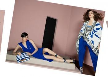 Diane von Furstenberg Spring 2011 Campaign | Ming Xi & Kendra Spears by Glen Luchford