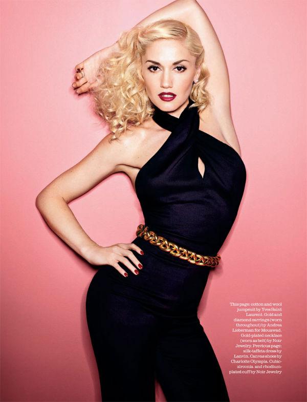 Gwen Stefani by Matthias Vriens-McGrath for Elle UK April 2011