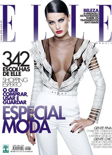 Elle Brazil March 2011 Cover   Isabeli Fontana by Gui Paganini