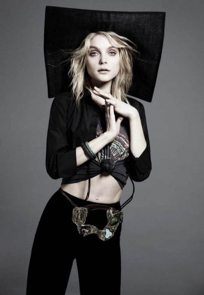 Jessica Stam for <em>Russh</em> #39 by Will Davidson