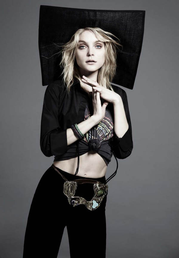 Jessica Stam for Russh #39 by Will Davidson
