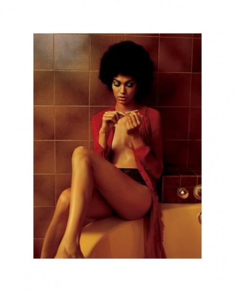 Joan Smalls by Alasdair McLellan V Magazine #70