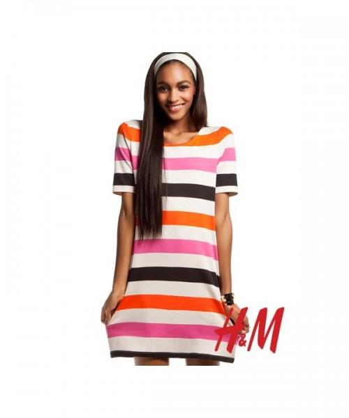 Jourdan Dunn for H&M Romantic Preppy Spring 2011 Campaign