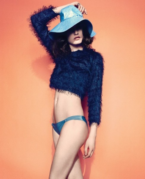 Pauline Van der Cruysse by Daemian Smith &#038; Christine Suarez for <em>Foam</em>