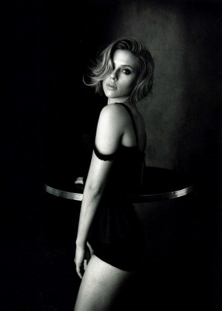 Scarlett Johansson in Dolce & Gabbana for <em>Vogue China</em> April 2011