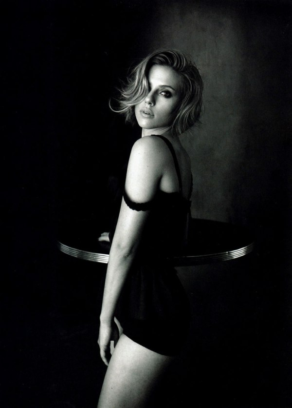 Scarlett Johansson in Dolce & Gabbana for Vogue China April 2011