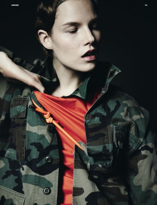 Suvi Koponen by Yelena Yemchuk for Dazed & Confused April 2011