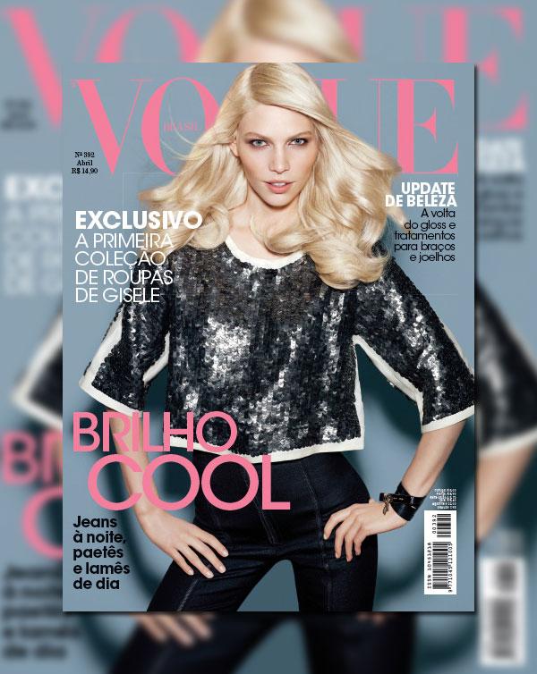 Aline Weber for Vogue Brazil April 2011 (Cover)