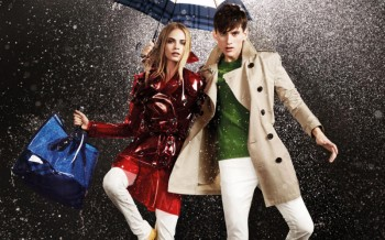 Burberry April Showers Campaign | Cara Delevingne by Jacob Sutton