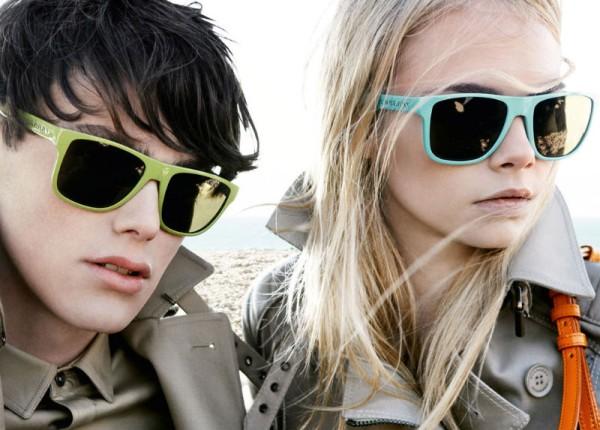 Burberry Brights Spring 2011 Campaign | Cara Delevingne by Mario Testino