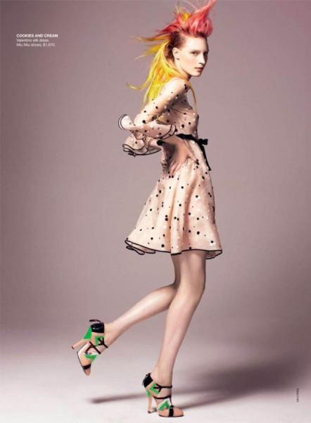 Julia Nobis for <em>Vogue Australia</em> May 2011 by Kai Z Feng