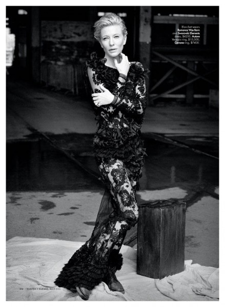 Cate Blanchett for <em>Harper&#8217;s Bazaar Australia</em> May 2011 by Will Davidson