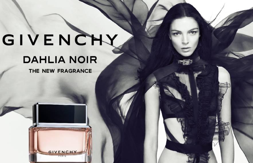 """Givenchy """"Dahlia Noir"""" Fragrance: Mariacarla Boscono"""