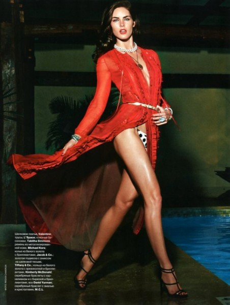 Hilary Rhoda by Regan Cameron for <em>Tatler Russia</em> May 2011