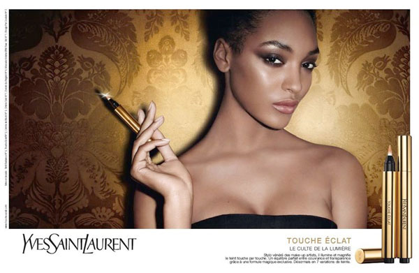 YSL Touche Eclat Campaign | Jourdan Dunn & Ginta Lapina by Terry Richardson