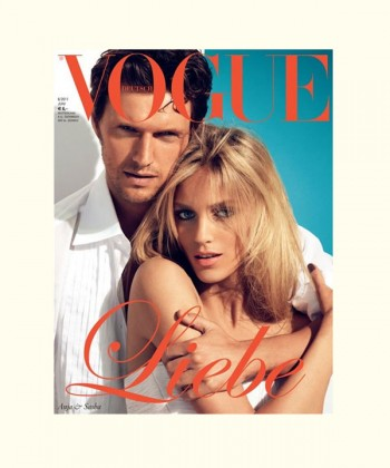 Anja Rubik, Alessandra Ambrosio & Karolina Kurkova Cover <em>Vogue Germany</em> June 2011