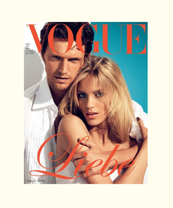 Anja Rubik, Alessandra Ambrosio & Karolina Kurkova Cover Vogue Germany June 2011