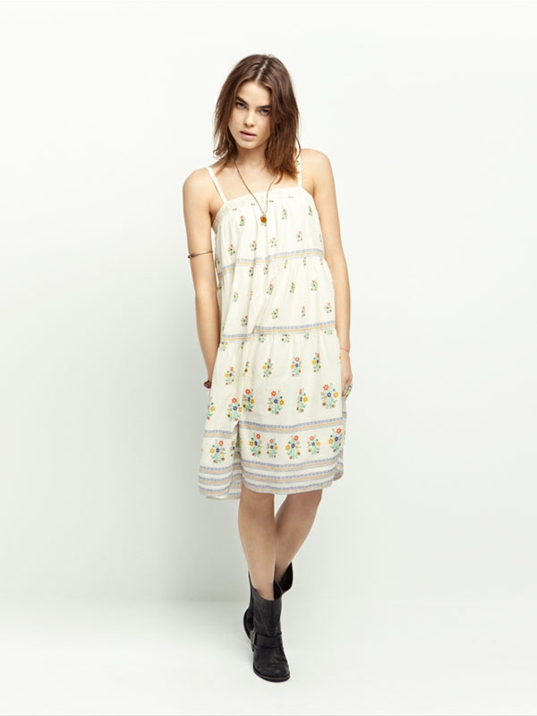 Zara TRF May 2011 Lookbook: Bambi Northwood-Blyth