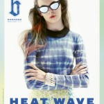 <em>b Magazine</em> #4 S/S 2011 Cover | Hannah Nobel by Aitken Jolly