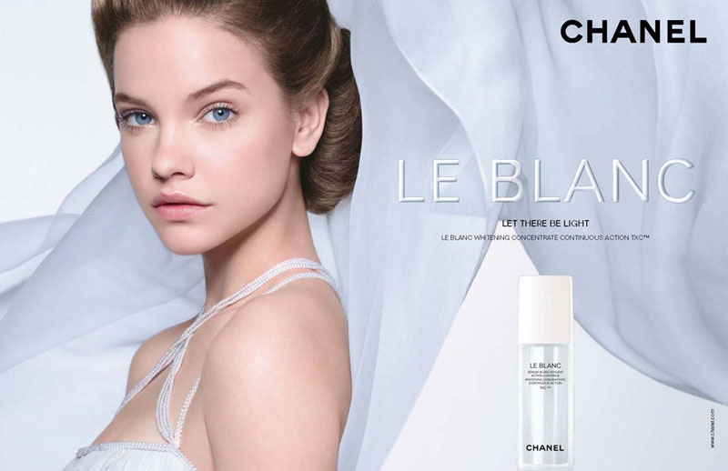 Barbara Palvin for Chanel Le Blanc Campaign