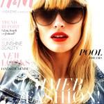 <em>H&#038;M Magazine</em> Summer 2011 Cover | Edita Vilkeviciute by Daniel Jackson