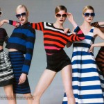 Natasha Poly, Iselin Steiro & Others by Jean-Baptiste Mondino for <em>Elle France</em>