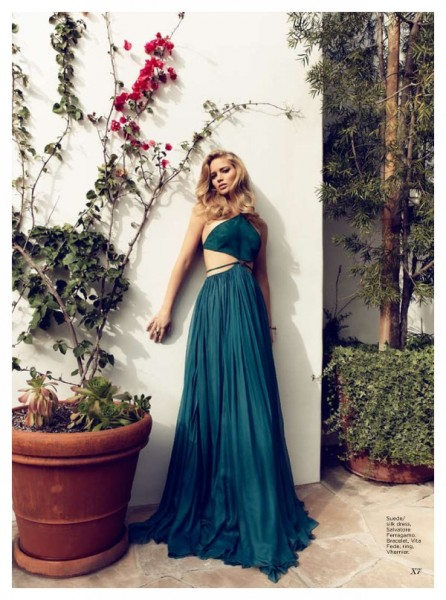 Jennifer Lawrence by Max Abadian for Flare June 2011