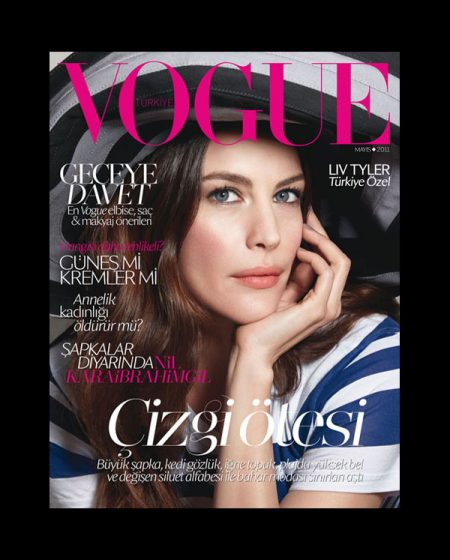 Vogue Turkey May 2011 Cover | Liv Tyler by Patrick Demarchelier
