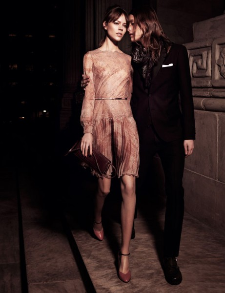 Freja Beha Erichsen in Valentino for <em>Interview</em> May 2011