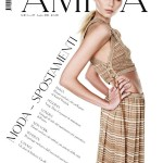 <em>Amica</em> July 2011 Cover | Vika Falileeva by Nadir