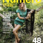 <em>Numéro Tokyo</em> July/August 2011 Cover | Angela Lindvall by Matthias Vriens-McGrath