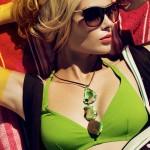 Sara von Schrenk by Markus Zeigler for <i>Elle Mexico</i> July 2011