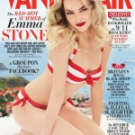 <em>Vanity Fair</em> August 2011 Cover | Emma Stone by Patrick Demarchelier
