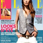 <em>Elle France</em> June 24, 2011 Cover | Erin Wasson by Fred Meylan
