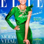 <em>Elle Spain</em> July 2011 Cover | Flavia de Oliveira by Juan Aldabaldetrecu