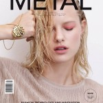 <em>Metal</em> #24 Cover | Hannah Holman by Eric Guillemain