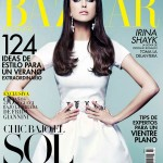 <em>Harper's Bazaar Mexico</em> July 2011 Cover | Irina Shayk by Jose Manuel Ferrater