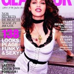 <em>Glamour France</em> July 2011 Cover | Laetitia Casta by Ellen von Unwerth