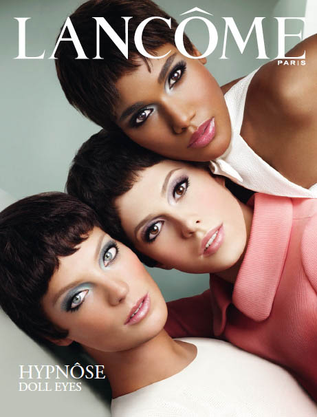 Daria Werbowy, Arlenis Sosa & Elettra for Lancome Hypnose Doll Eyes Campaign